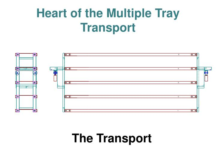 Heart of the Multiple Tray Transport