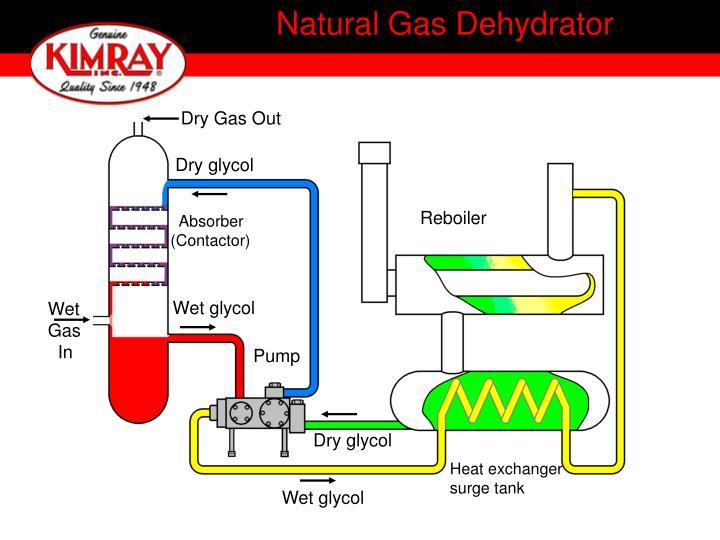 Natural Gas Dehydrator
