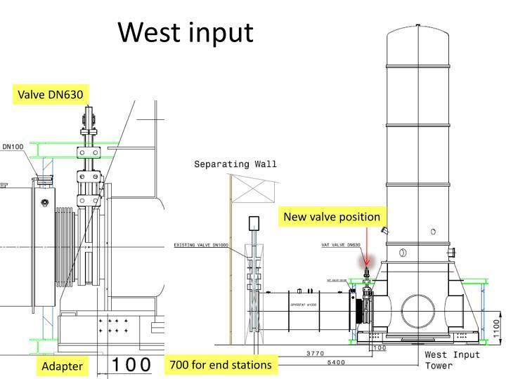West input