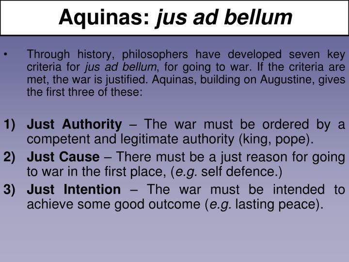 Aquinas: