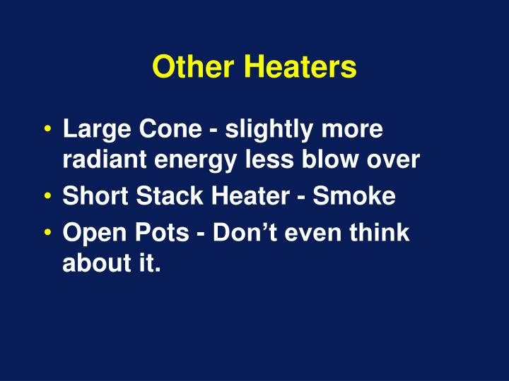 Other Heaters
