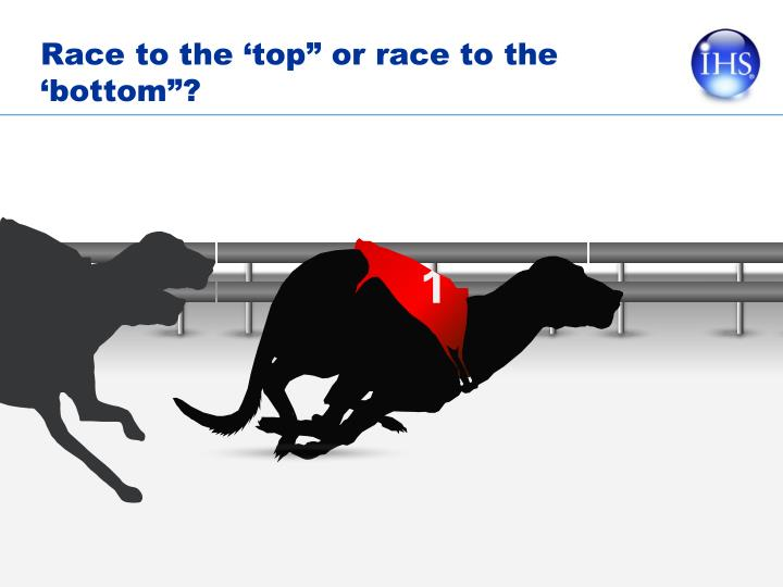 """Race to the 'top"""" or race to the 'bottom""""?"""
