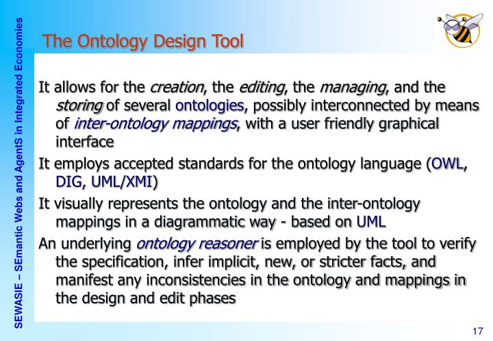 The Ontology Design Tool