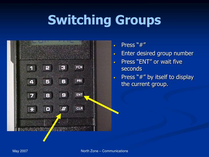Switching Groups