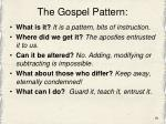 the gospel pattern1