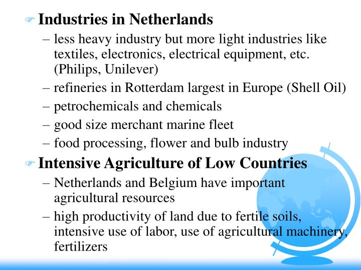 Industries in Netherlands