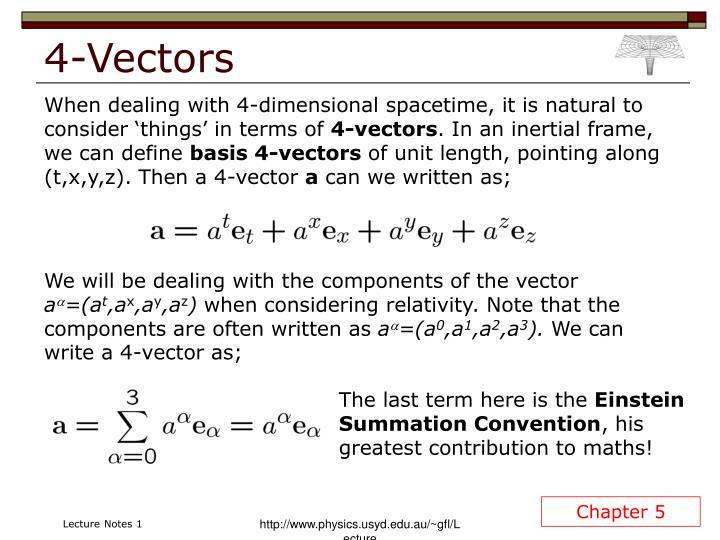 4-Vectors