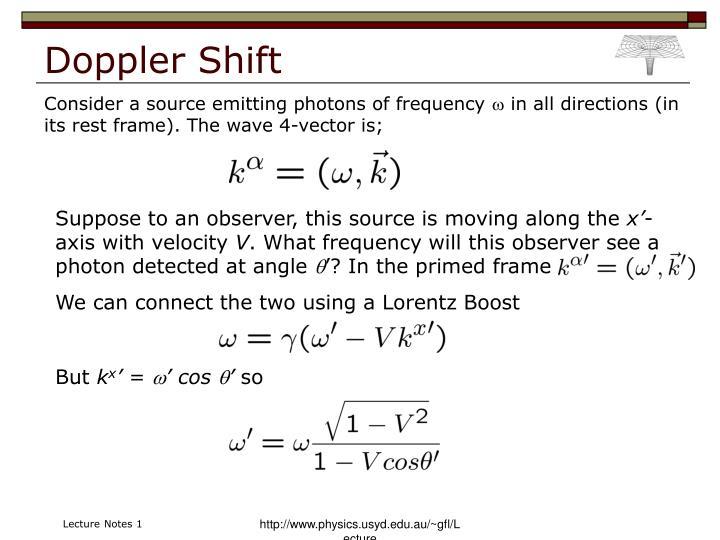 Doppler Shift