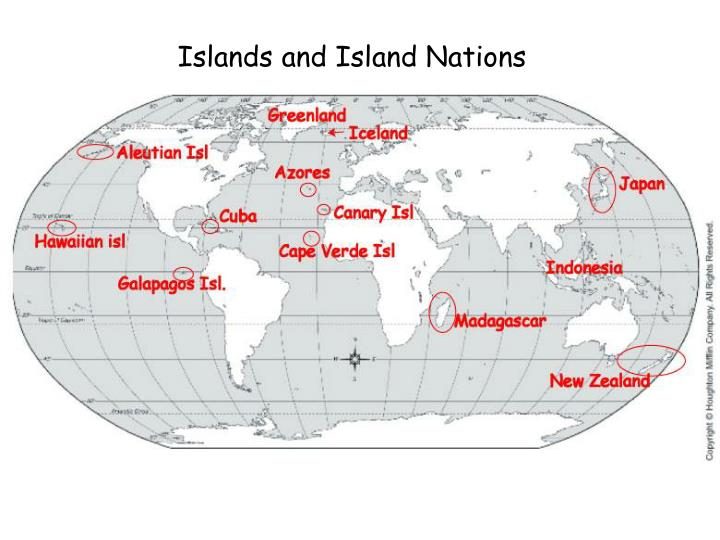 Islands and Island Nations
