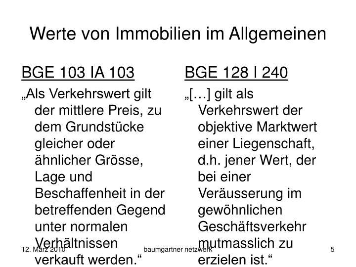 BGE 103 IA 103