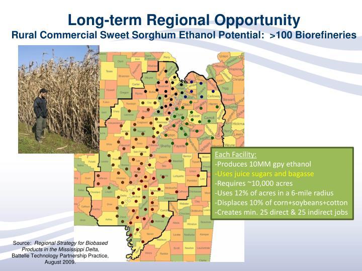Long-term Regional Opportunity