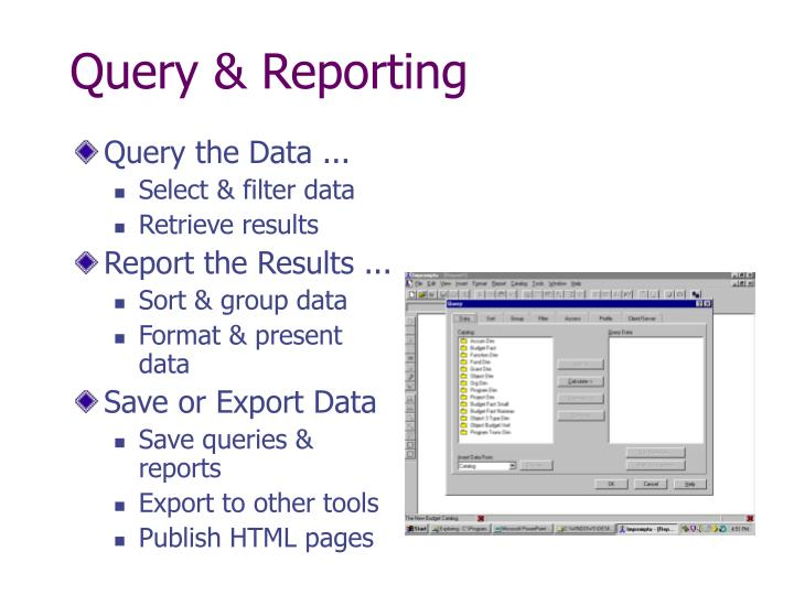 Query & Reporting