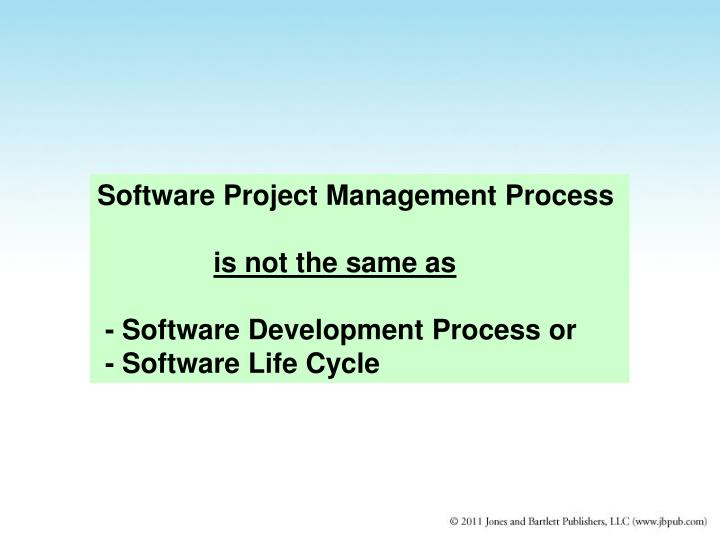 Software Project Management Process
