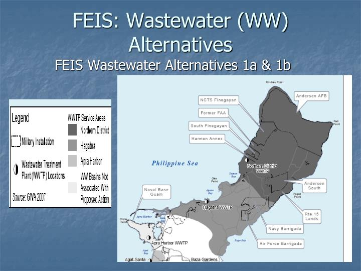 FEIS: Wastewater (WW) Alternatives