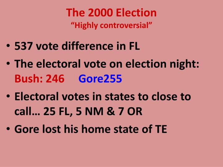 The 2000 Election