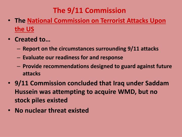 The 9/11 Commission