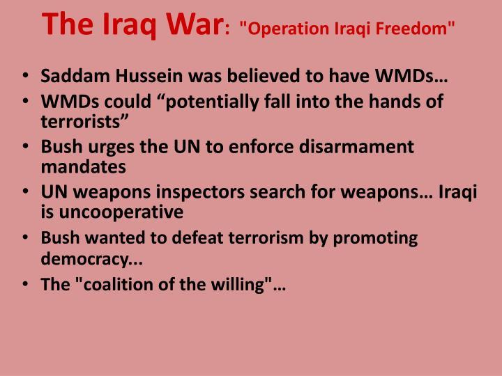 The Iraq