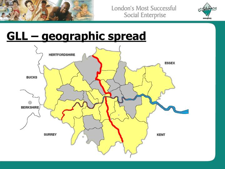 Gll geographic spread