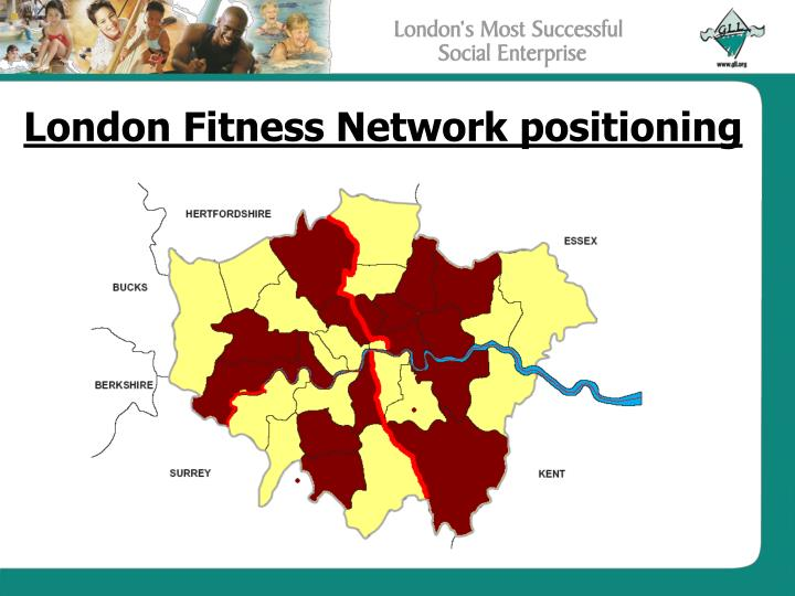 London Fitness Network positioning