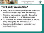 third party recognition