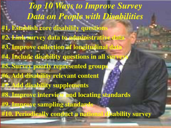 Top 10 Ways to Improve Survey