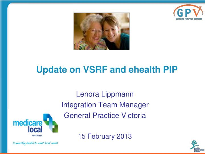 Update on vsrf and ehealth pip