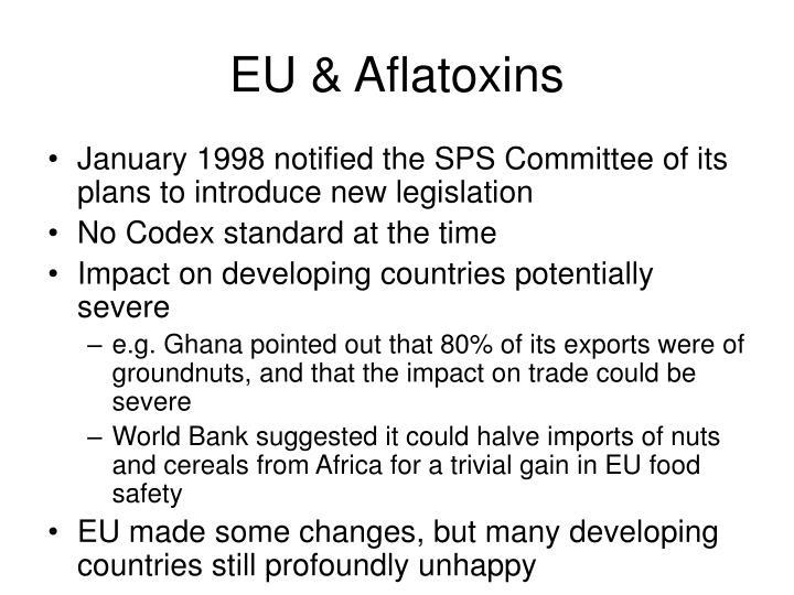 EU & Aflatoxins