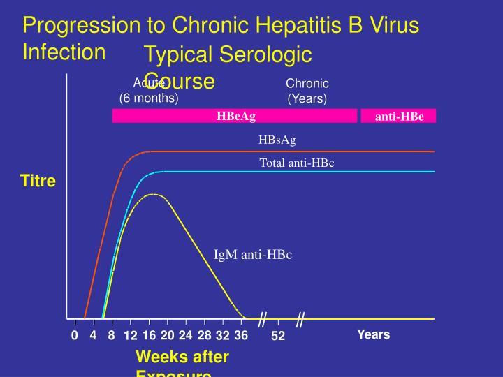 Progression to Chronic Hepatitis B Virus Infection