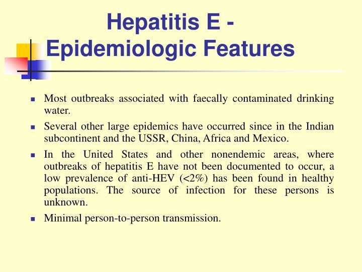 Hepatitis E -