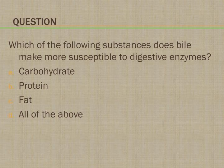 Which of the following substances