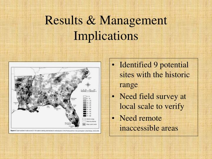Results & Management Implications