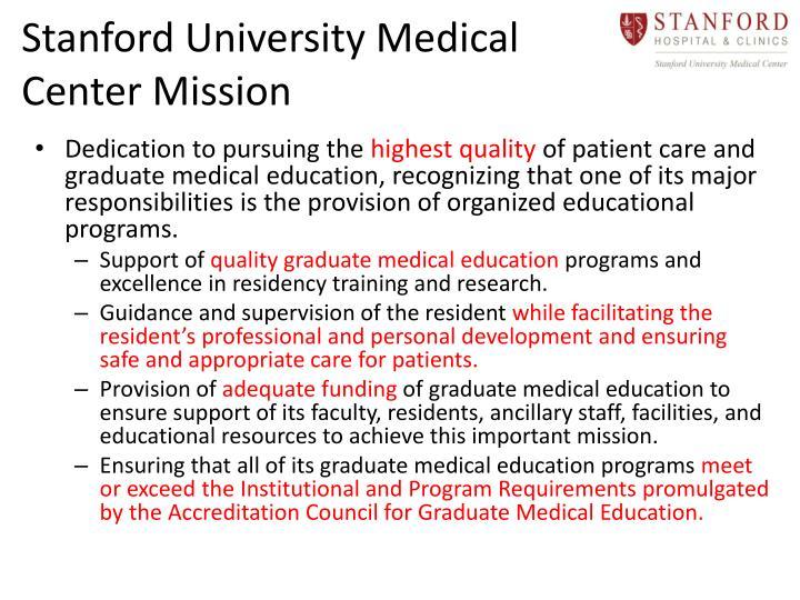 Stanford University Medical