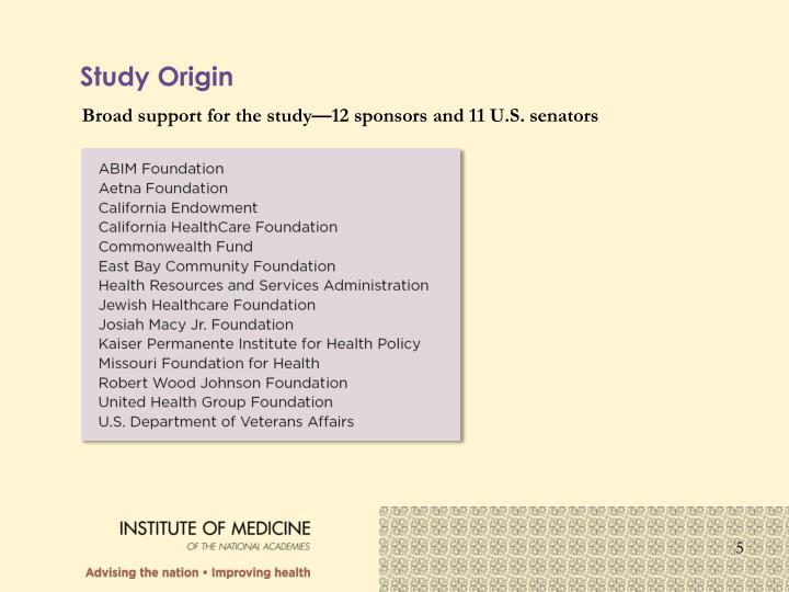 Study Origin