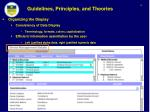 guidelines principles and theories7