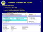 guidelines principles and theories8