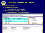 guidelines principles and theories9