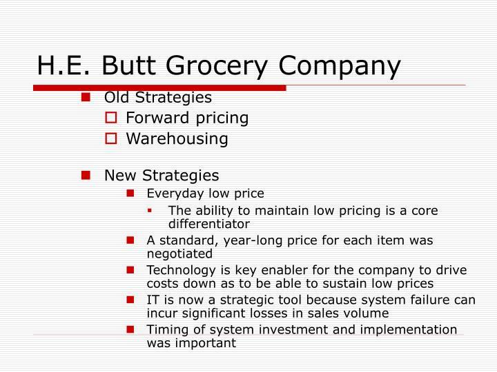 H.E. Butt Grocery Company