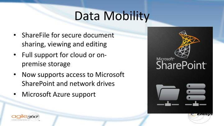 Data Mobility