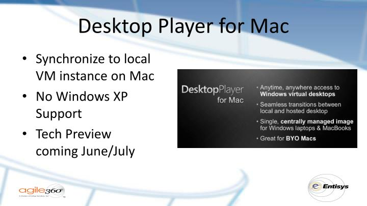 Desktop Player for Mac