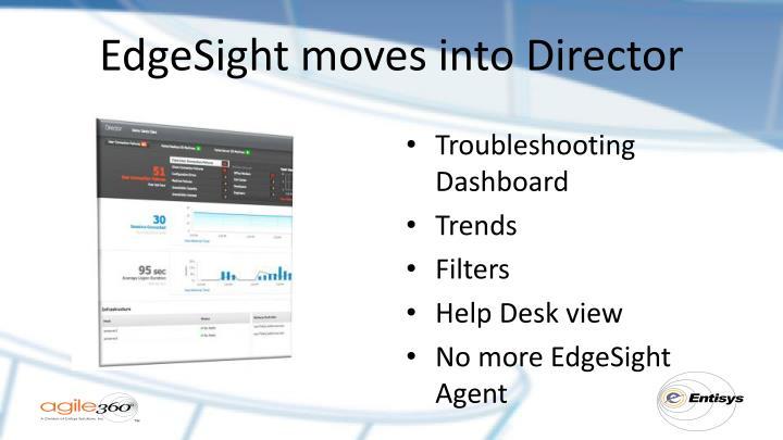 EdgeSight moves into Director