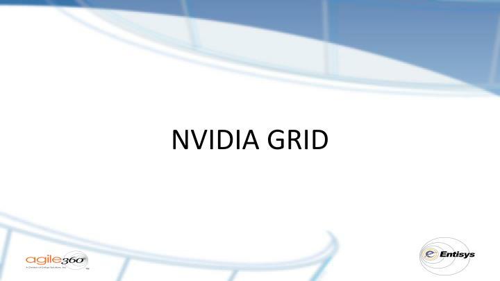 NVIDIA GRID