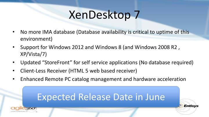 XenDesktop 7