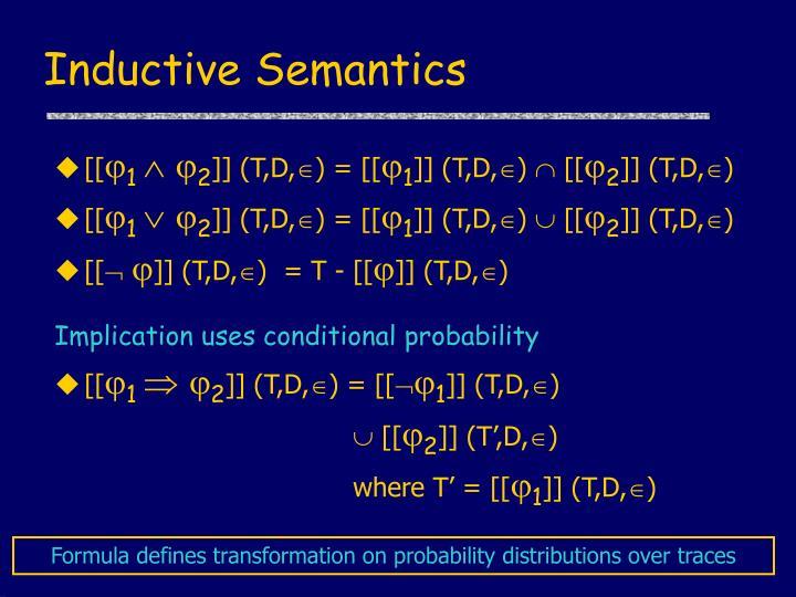 Inductive Semantics