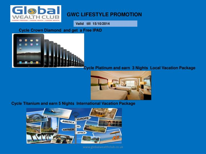 GWC LIFESTYLE PROMOTION