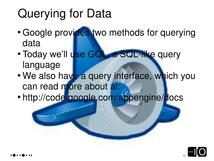 Querying for Data