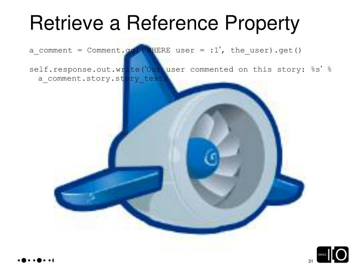 Retrieve a Reference Property