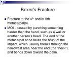 boxer s fracture