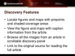 discovery features