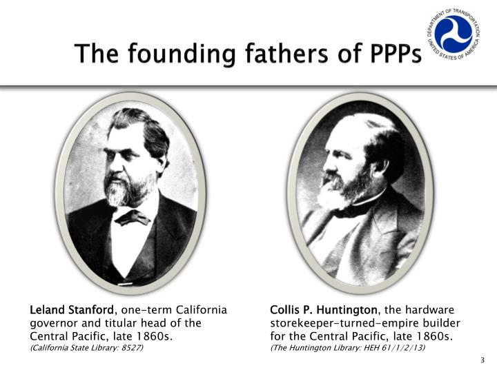 The founding fathers of PPPs