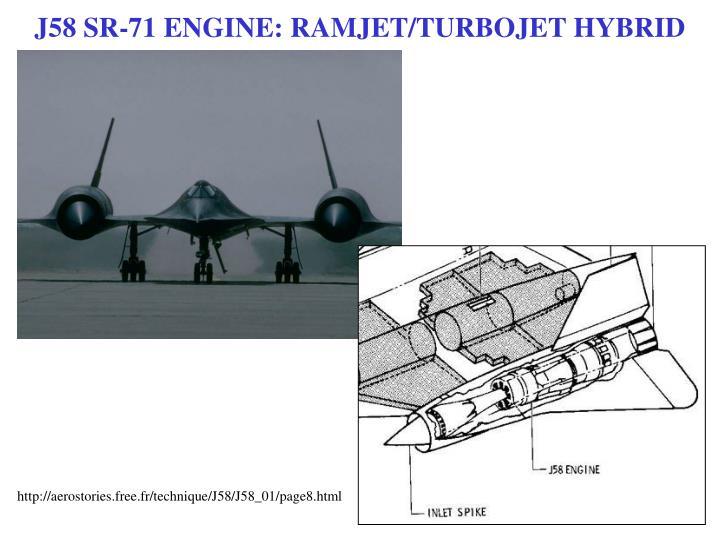 J58 SR-71 ENGINE: RAMJET/TURBOJET HYBRID